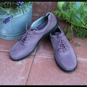 Purple Suede Hotter Shoes